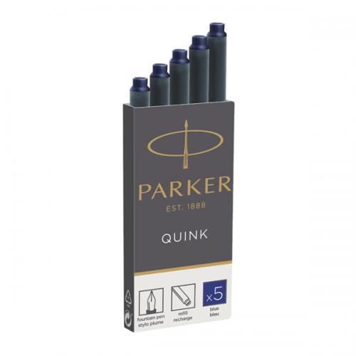 Parker Dolma Kalem Kartuşu Quink 5 Lİ Mavi 1950384