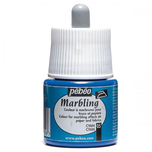 Pebeo Ebru Boyası Marbling 45 ML Cyan 130*05