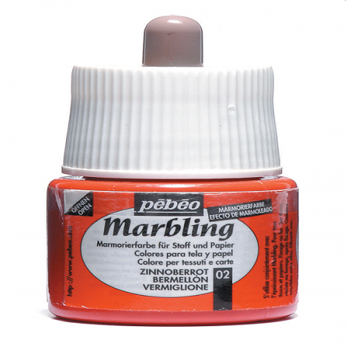 Pebeo Ebru Boyası Marbling 45 ML Vermilion 130*02