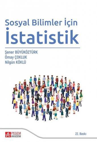 Sosyal Bilimler için İstatistik  Pegem Akademi Yayıncılık