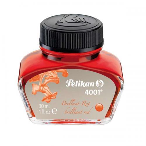 Pelikan Dolma Kalem Mürekkebi 30 ML Kırmızı 4001