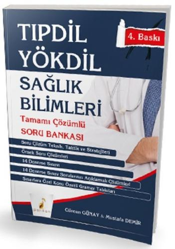 Pelikan TIPDİL YÖKDİL Sağlık Bilimleri Soru Bankası 4. Baskı Kitabı Pelikan Yayınları