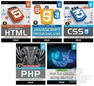PHP İle WEB Programlama Seti (5 Kitap Takım)