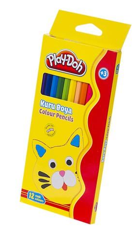 Play-Doh Kuru Boya Tam Boy 12 Renk PLAY-KU001