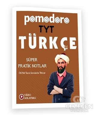 Pomodoro TYT Türkçe Konu Soru Süper Pratik Notlar