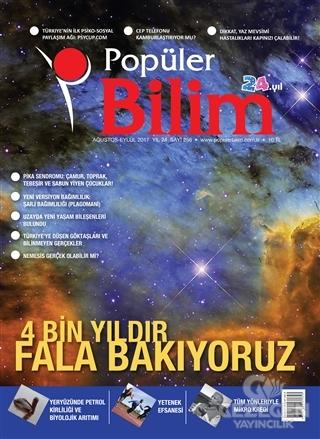 Popüler Bilim Dergisi Sayı: 256 Ağustos - Eylül 2017