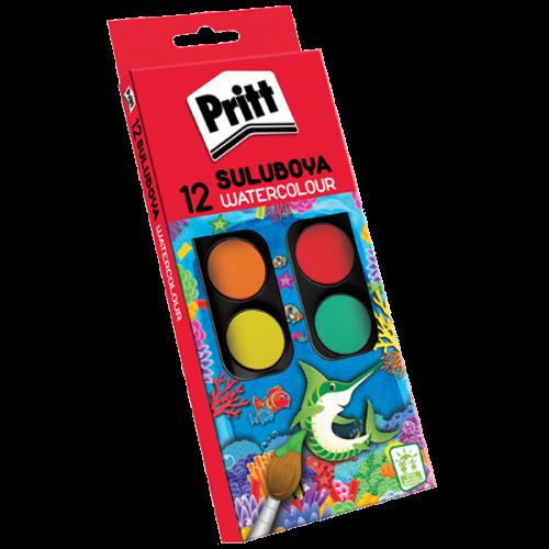 Pritt Sulu Boya Küçük Boy 12 Renk