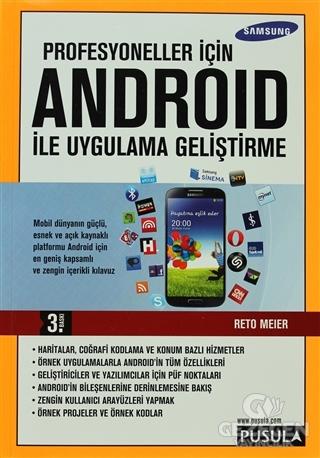 Profesyoneller için Android ile Uygulama Geliştirme