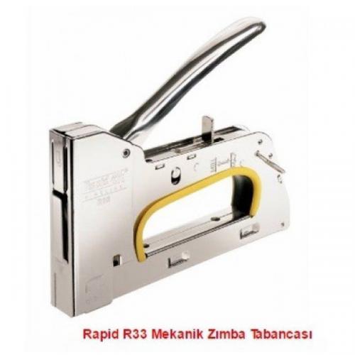 Rapid Çakma Zımba Makinası Metal  13/6-14 R33