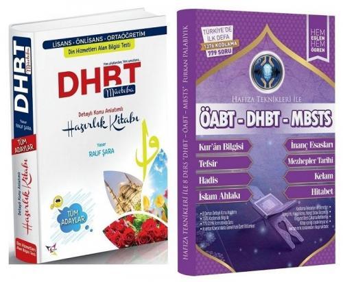 Rauf Şara 2021 DHBT Mücteba Konu + Hafıza Teknikleri ve Kodlama Soru Bankası 2 li Set Rauf Şara + Furkan Palabıyık *