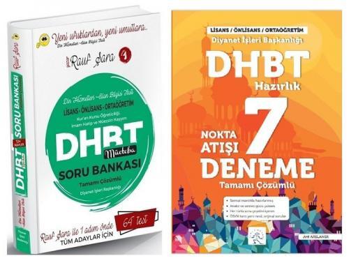 Rauf Şara 2021 DHBT Mücteba Soru Bankası + Arif Hocam 7 Deneme 2 li Set Rauf Şara + Arif Arslaner *