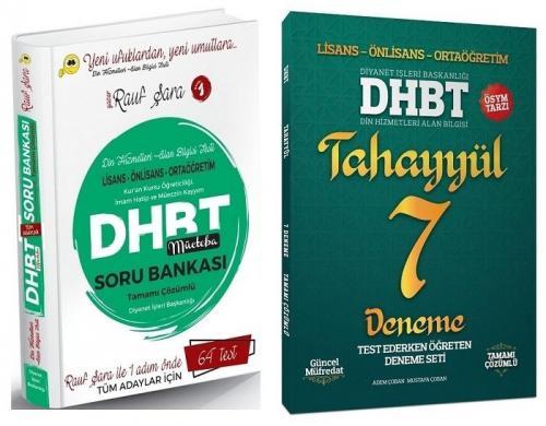 Rauf Şara 2021 DHBT Mücteba Soru Bankası + Tahayyül 7 Deneme 2 li Set Rauf Şara + Tahayyül Yayınları *