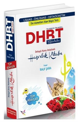 Rauf Şara 2021 DHBT Mücteba Tüm Adaylar Konu Anlatımlı Hazırlık Kitabı Rauf Şara *