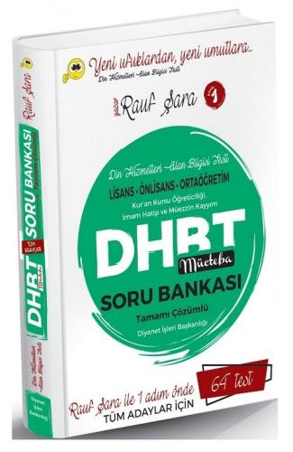 Rauf Şara 2021 DHBT Mücteba Tüm Adaylar Soru Bankası Rauf Şara *