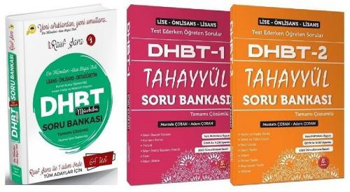 Rauf Şara Mücteba + Tahayyül 2021 DHBT Soru Bankası Seti Rauf Şara + Tahayyül Yayınları *