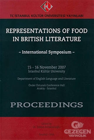 Representations of Food in British Literature : International Symposium - Proceedings (15 - 16 November 2007)