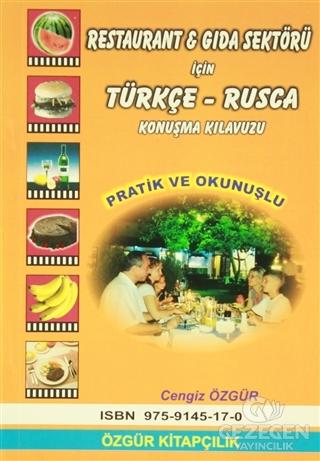 Restaurant ve Gıda Sektörü İçin Türkçe-Rusça Konuşma Kılavuzu