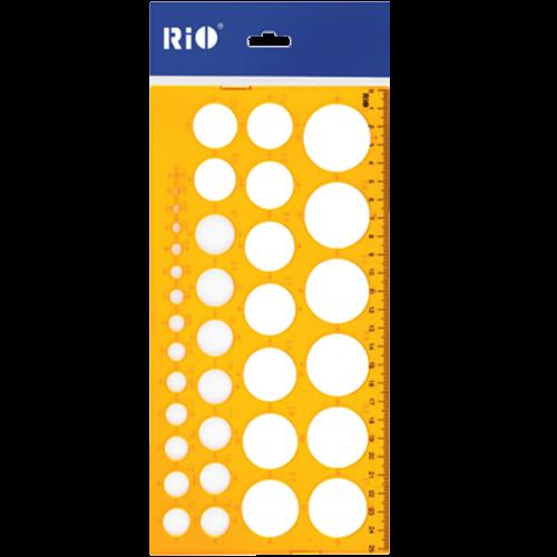 Rio Daire Şablonu 1-36 MM 801