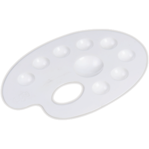Rio Palet Akrilik Oval Beyaz 701