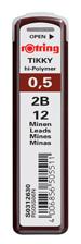Rotring Min Hi-Polymer 2B 0.5 MM S0312630