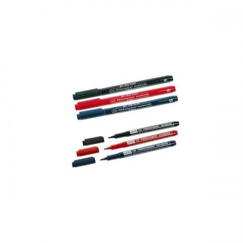 Rubenis CD Kalemi Permanent S Seri Silgili Siyah TP-905-S/S