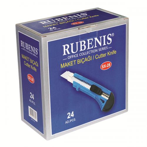 Rubenis Maket Bıçağı Geniş SX-28