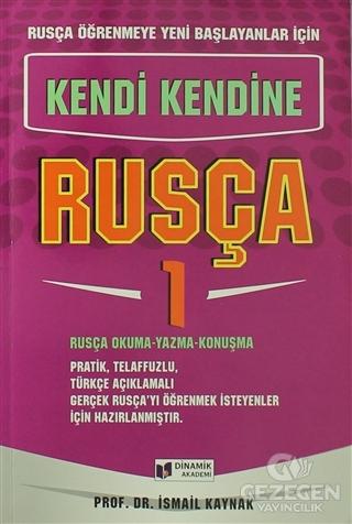 Rusça Öğrenmeye Yeni Başlayanlar İçin - Kendi Kendine Rusça 1