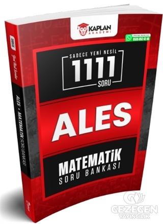 Sadece Yeni Nesil ALES 1111 Soru Matematik Soru Bankası   Kaplan Akademi
