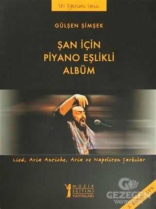 Şan için Piyano Eşlikli Albüm