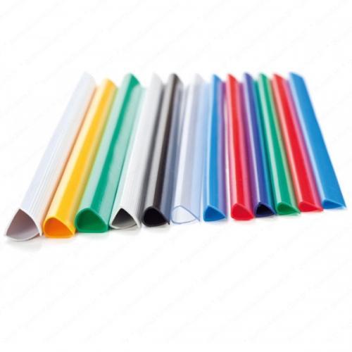 Sarff Profil Sırtlık Plastik Orta Oval 45  YP 10 MM Kırmızı 15203011