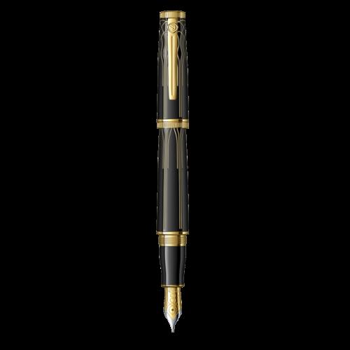 Scrikss Dolma Kalem Heritage Siyah Altın