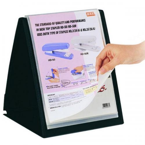Serve Prezentasyon Dosyası Dikey 20 Lİ A4 Siyah SV6006