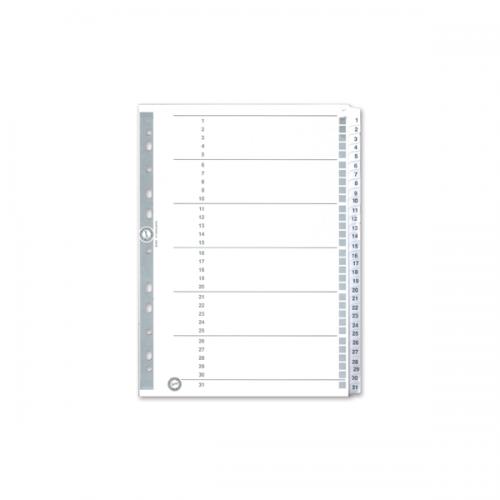Serve Seperatör 1-31 Rakamlı Kağıt A4 SV5327