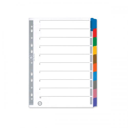 Serve Seperatör 10 Renkli Kağıt A4 SV5521K