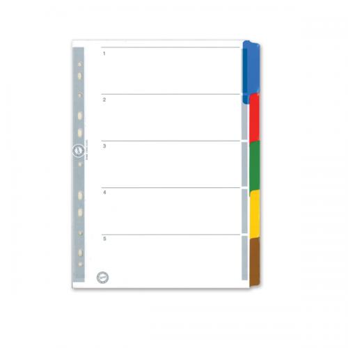 Serve Seperatör 5 Renkli Kağıt A4 SV5520K