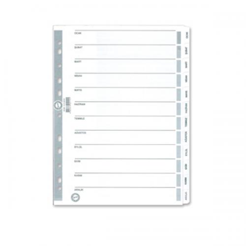 Serve Seperatör Aylar Kağıt A4 SV5329