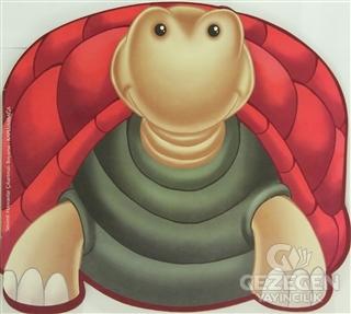 Sevimli Hayvanlar Çıkartmalı Boyama - Kaplumbağa