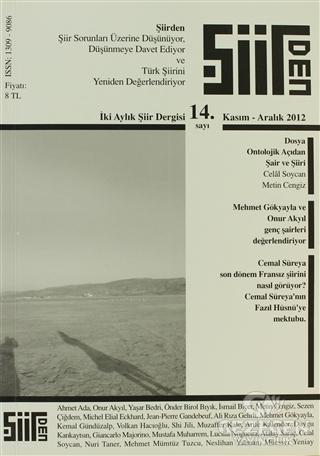 Şiirden İki Aylık Şiir Dergisi Sayı: 14