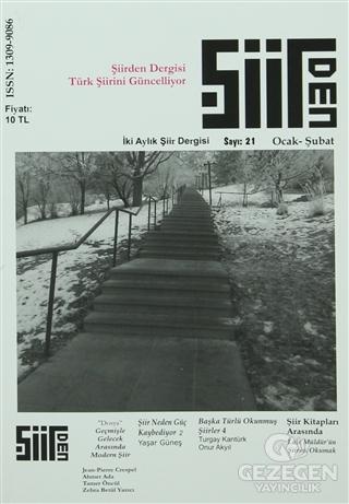 Şiirden İki Aylık Şiir Dergisi Sayı: 21