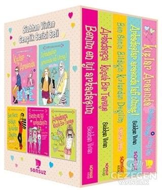 Siobhan Vivian Gençlik Serisi Seti (5 Kitap Takım Kutulu)