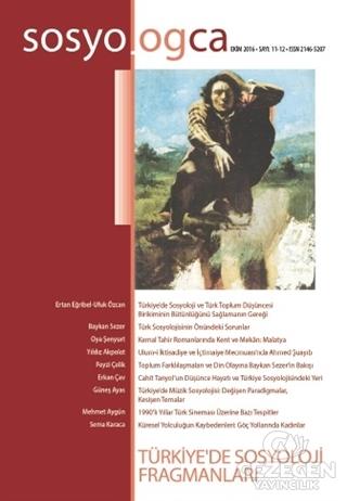 Sosyologca Dergisi Sayı : 11-12