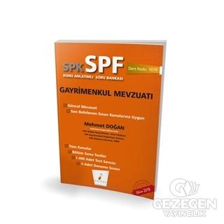 SPK - SPF Gayrimenkul Mevzuatı Konu Anlatımlı Soru Bankası