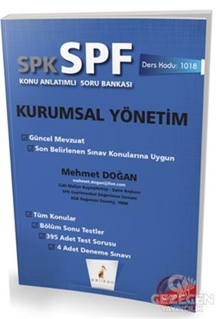 SPK - SPF Kurumsal Yönetim Konu Anlatımlı Soru Bankası