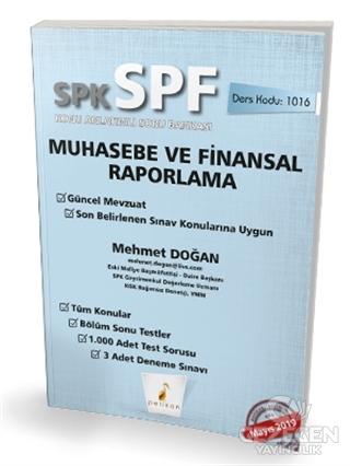 SPK - SPF Muhasebe ve Finansal Raporlama Konu Anlatımlı Soru Bankası