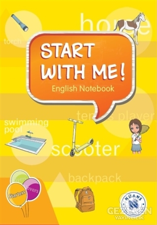 Start with Me! English Notebook