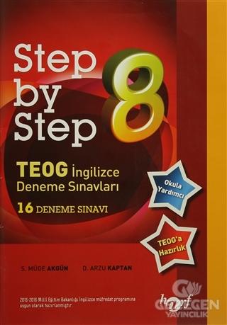 Step By Step 8. Sınıf İngilizce 16 Deneme Sınavı