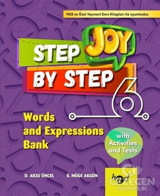 Step By Step Joy 6. Sınıf Words And Expressions Bank