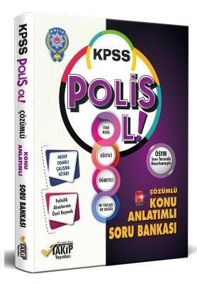 Takip Yayınları 2020 KPSS POLİS OL Konu Anlatımlı Soru Bankası Çözümlü Takip Yayınları