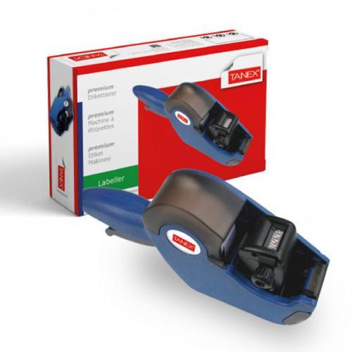 Tanex Fiyat Etiket Makinası Mavi TNXMK041