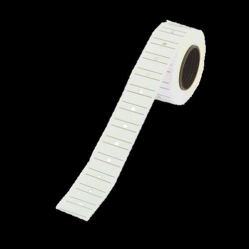 Tanex Fiyat Etiketi Çizgili 12x21 Beyaz